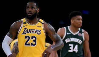 LeBron James hace historia en la noche que los Lakers vuelven a playoffs