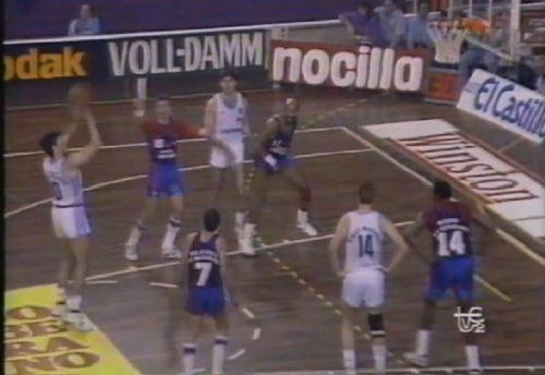 Joya de archivo: Barça-Real Madrid, Epi vs Petrovic en la final liguera de 1989 (Vídeo)