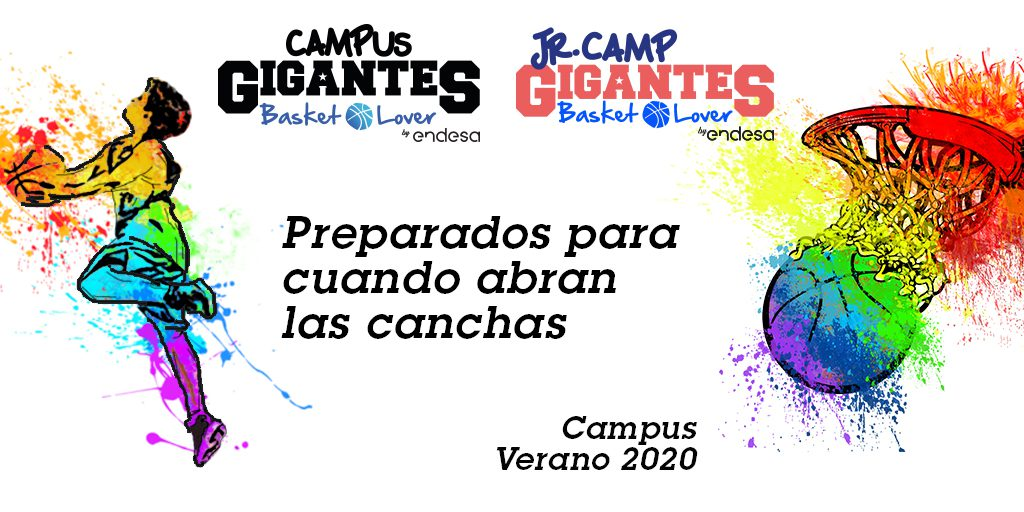 Comunicado situación Campus Gigantes Basket Lover y JrCamp Gigantes Basket Lover
