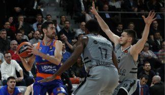 El Valencia Basket cae en Francia: tercera derrota seguida en la Euroliga