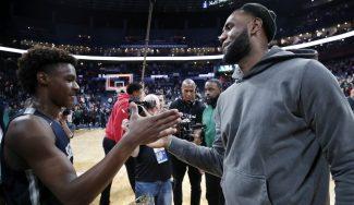 ¿Puede LeBron James jugar con su hijo antes de retirarse? Te lo explicamos