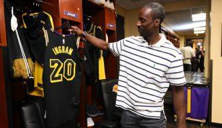El debut más curioso de un jugador en los Lakers: de la G-League a oír gritos de MVP