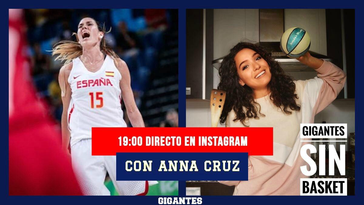 Anna Cruz, invitada en 'Gigantes sin Basket': repasamos su entretenida intervención