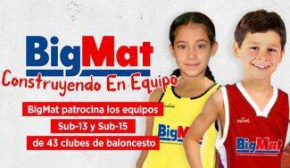 BigMat patrocina 43 clubes de baloncesto amateur. ¿Quieres ser uno de ellos?