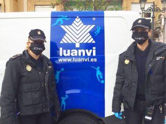 Gran gesto de Luanvi: están fabricando mascarillas en sus instalaciones