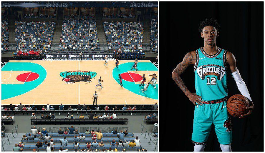 Memphis - Vancouver Grizzlies