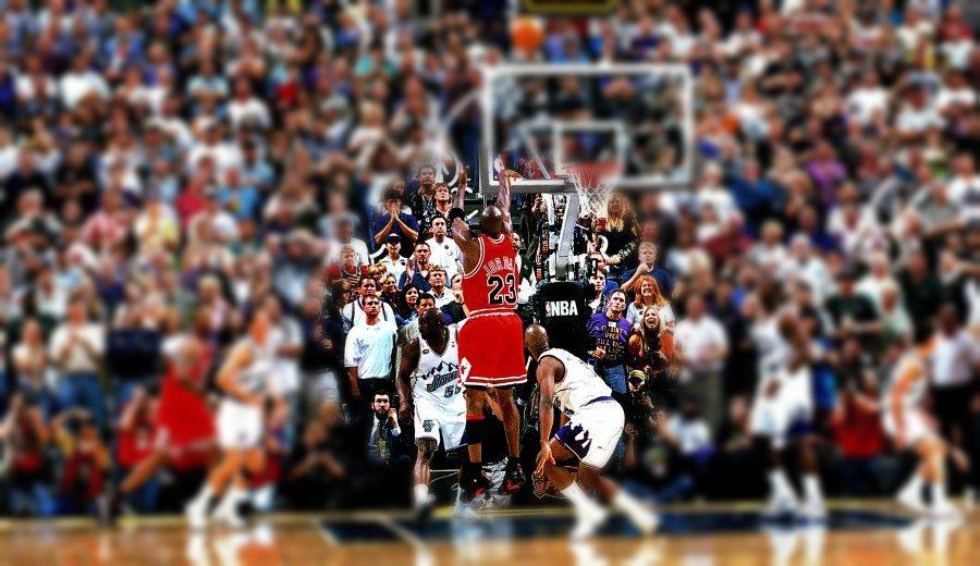 girasol Parecer Por encima de la cabeza y el hombro  Aprende a ejecutar el tiro más famoso de la carrera de Michael Jordan