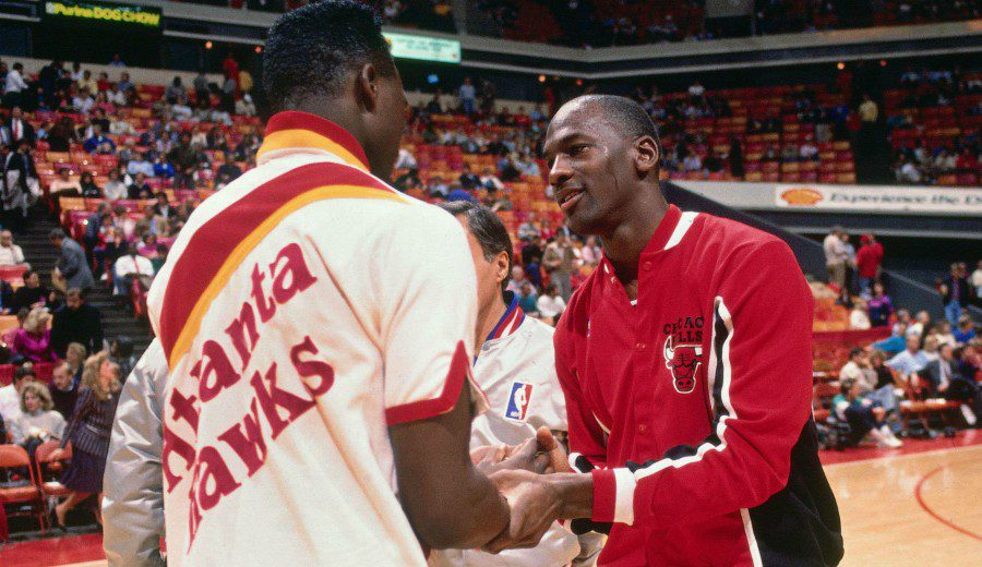 Tremenda bravuconada de Michael Jordan, contada por Dominique Wilkins
