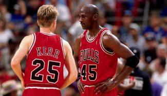 Un puñetazo de Michael Jordan, la mejor «lección» recibida por Steve Kerr