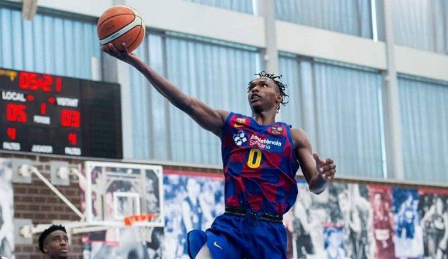 'Papi' Badio, la perla del Barcelona que irá a la SuperCopa y al Draft