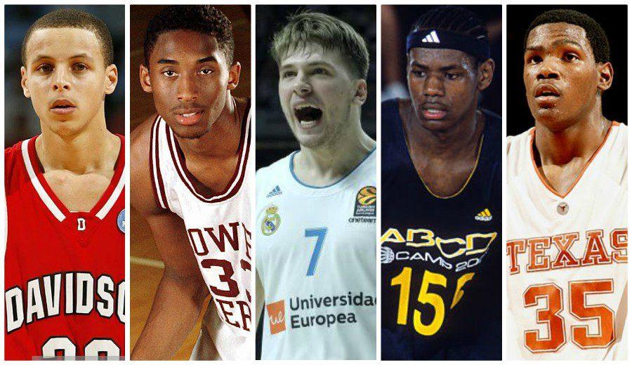 Cinco genios del baloncesto moderno y su momento de explosión previo a la NBA