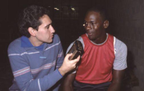 'El día que cenamos con Michael Jordan, tras llevarnos a un lugar más seguro', por Sixto Miguel Serrano