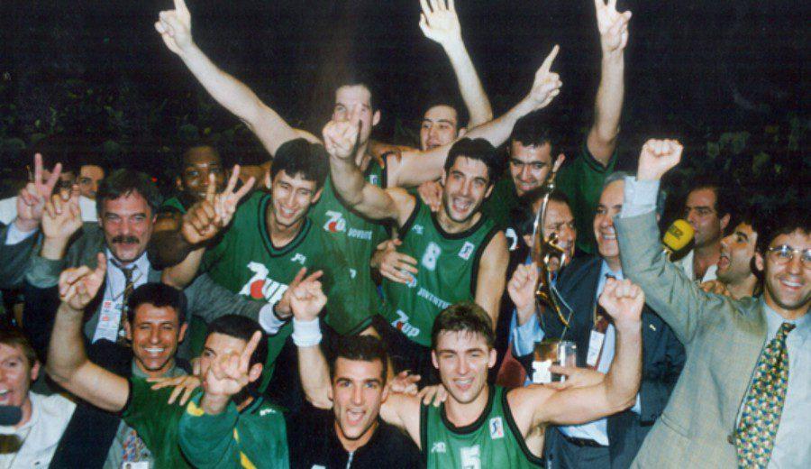 Héroes verdinegros: Recordamos a los jugadores del Joventut que ganaron, hace 26 años, la Copa de Europa