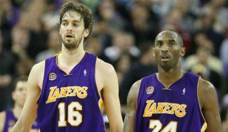 La tremenda amistad entre Kobe Bryant y Pau Gasol, por Edu Schell