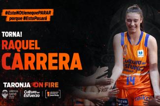 Raquel Carrera regresa a Valencia Basket: ¿Cómo le ha ido en su primer año en LF Endesa?