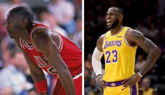 ¿Cómo hubiera resultado ver a LeBron y Jordan jugar juntos? James lo explica