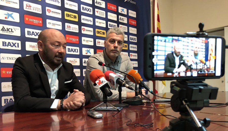 El BAXI Manresa no renueva a Román Montañez, su director deportivo