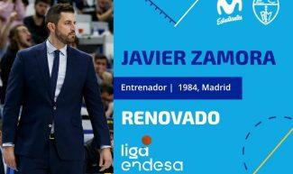 Javier Zamora, renovado como entrenador de Movistar Estudiantes