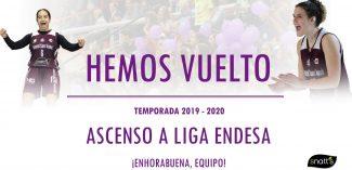 Snatt's Femení Sant Adrià volverá a vivir la Liga Femenina Endesa: segundo ascenso en cuatro años de las lilas
