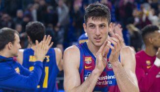 Bolmaro, elegido en primera ronda del draft de la NBA, confirma que se queda en el Barça