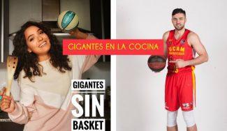 Emanuel Cate hace sus primeros pinitos en la cocina en el décimo episodio de 'Gigantes sin Basket'
