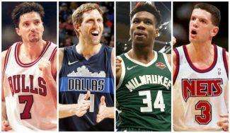 Los diez mejores jugadores europeos en la NBA a lo largo de la historia