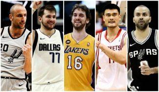 Jugadores internacionales NBA: el mejor, país por país
