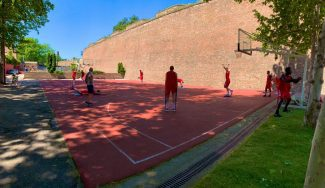 La singular vuelta a los entrenamientos del Estrella Roja serbio