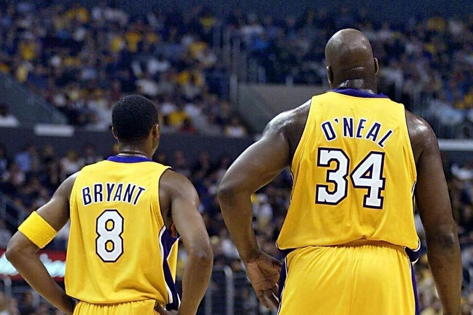 Kobe Bryant y Shaquille O'Neal