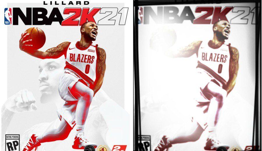 Damian Lillard, uno de los tres jugadores portada del NBA 2K21
