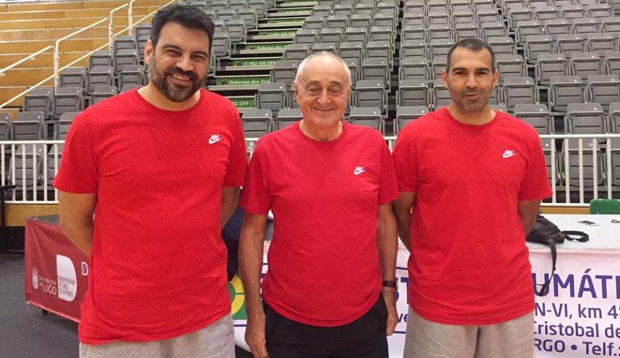Curiosa situación en el Bahía San Agustín: dos entrenadores + Pepe Laso