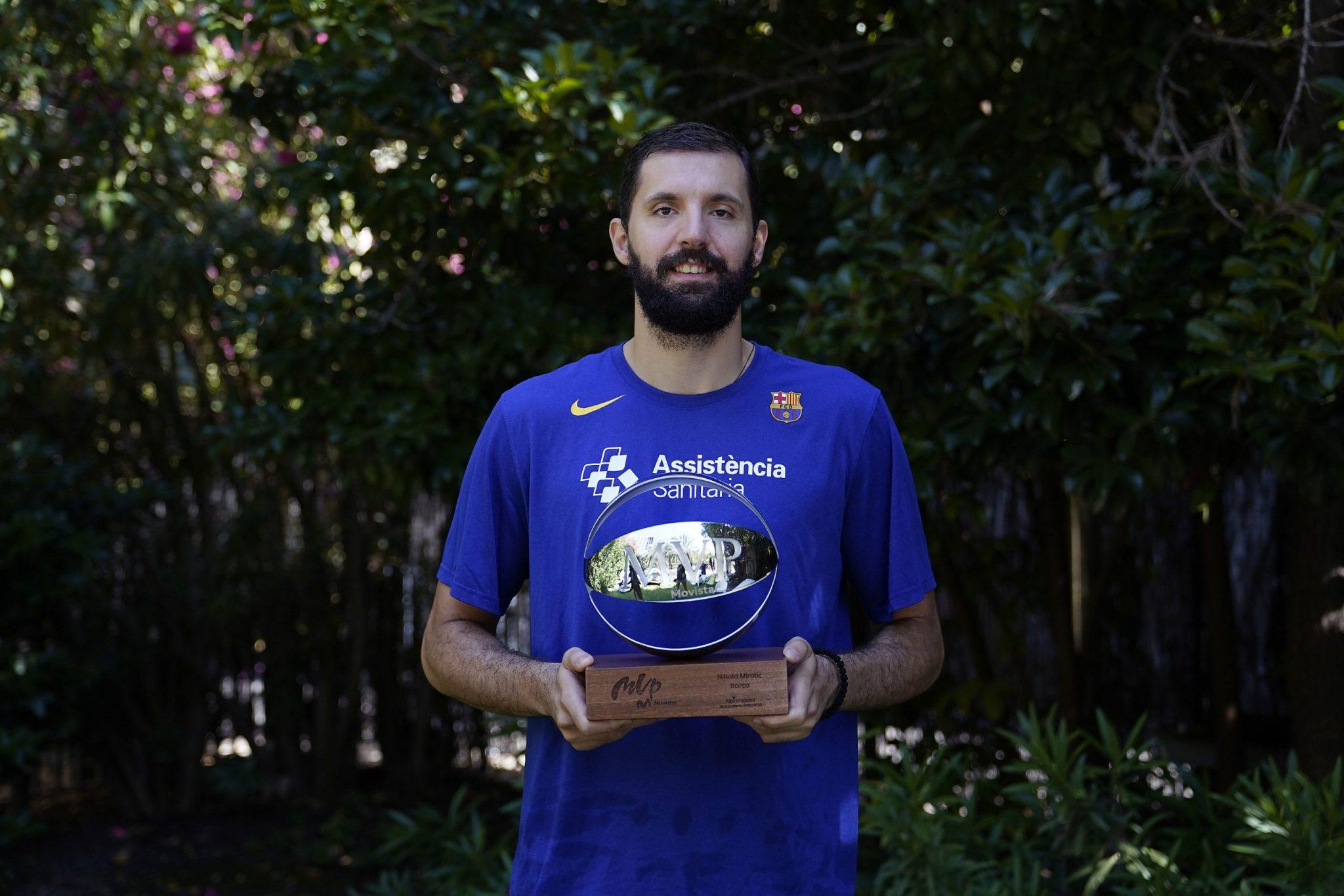 Mirotic, MVP de la Liga Endesa. Palabras, votaciones y la especial entrega….