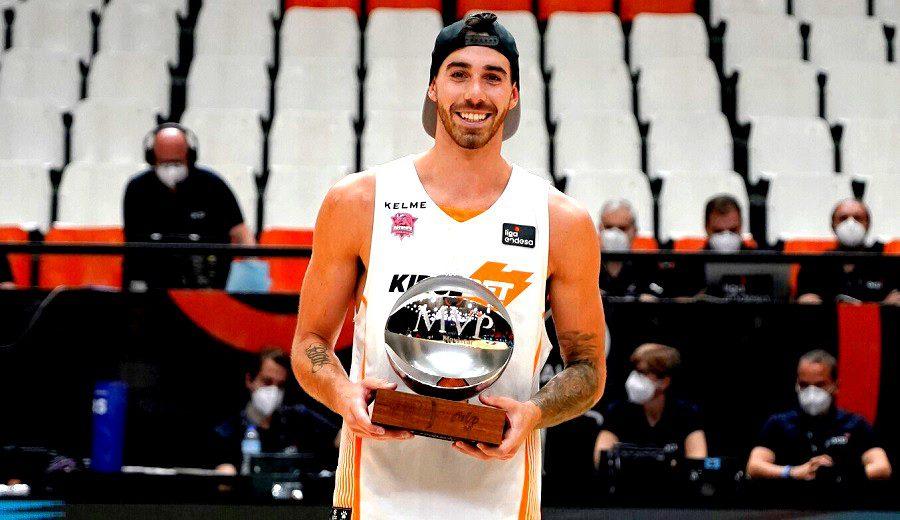 Luca Vildoza, MVP de la final de la Liga Endesa: así lo ha logrado