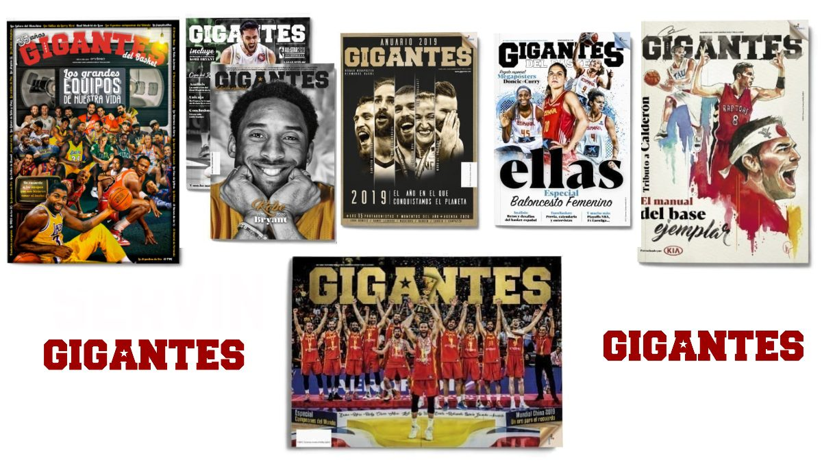 Todas estas revistas disponibles en la Tienda de Gigantes