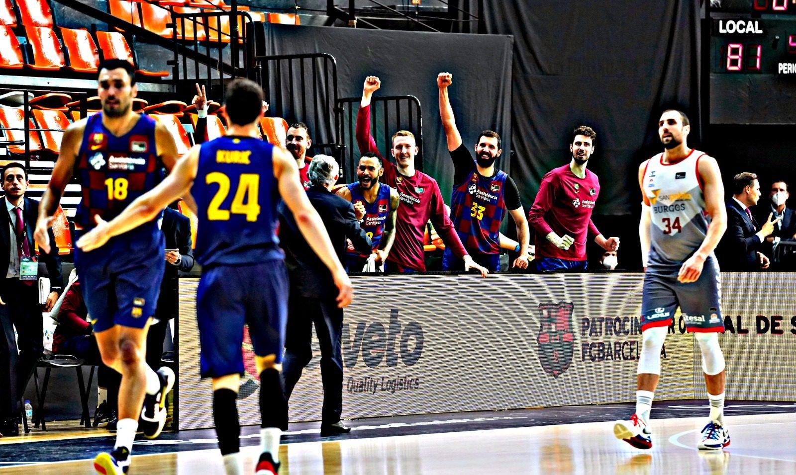 La máquina del Barça acaba con el sueño del San Pablo Burgos (Vídeo)