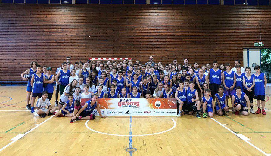 Adrián Yáñez, director del Jr Camp Gigantes de Bizkaia, profundiza en un evento que va a más