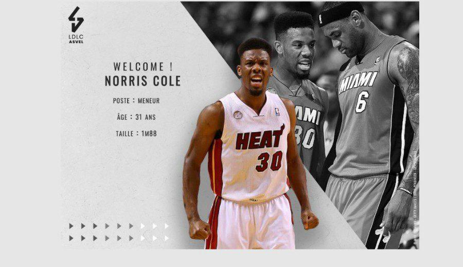 Norris Cole, un doble campeón NBA que ficha por el ASVEL de Tony Parker