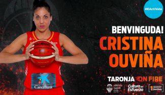 Cinco cosas que quizás no sabes sobre Cristina Ouviña, nueva jugadora del Valencia Basket