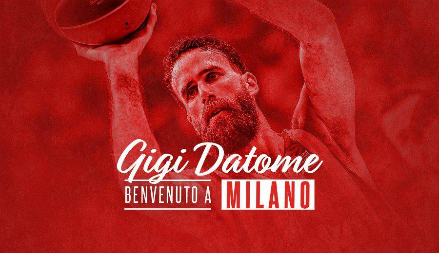 La revolución del Milán suma otra pieza: Gigi Datome es nuevo jugador del conjunto italiano