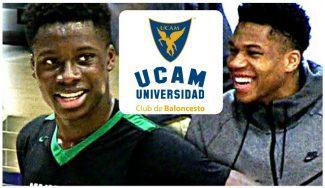El pequeño de los Antetokounmpo jugará en el UCAM Murcia: Alex firma por tres años