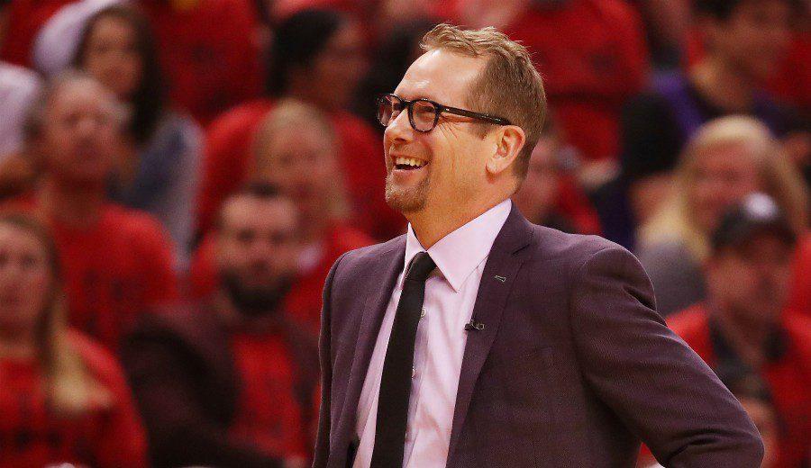 La propuesta de Nick Nurse para hacer efectiva la ventaja de campo en los Playoffs NBA