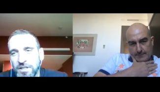 Reflexiones deliciosas: cara a cara virtual entre Jaume Ponsarnau e Ibon Navarro