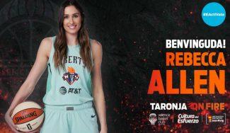 Rebecca Allen, la guinda del pastel del proyecto del Valencia Basket el próximo curso