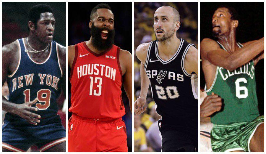 Los mejores jugadores zurdos de la NBA. La lista definitiva