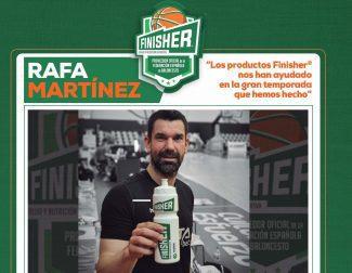 """Rafa Martínez: """"Los productos Finisher® nos han ayudado en la gran temporada que hemos hecho"""""""