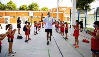 Sebas Saiz, invitado al Campus Gigantes de Valladolid: así fue la visita