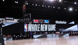Las primeras imágenes del regreso de la NBA: sensaciones, curiosidades…