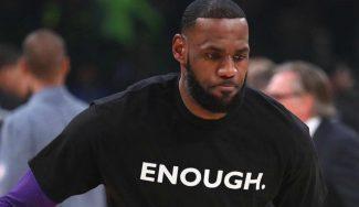 LeBron James alza la voz en lo referente al Black Lives Matter