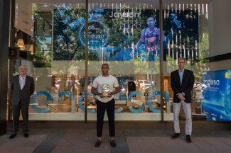 Jayson Granger recibe el Premio Endesa 2020 que ensalza valores