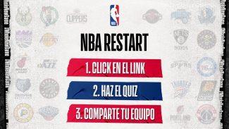 Un quiz especial sobre NBA que te proporciona un descuento en la NBA Store